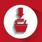 Data file design. Illustration eps10 graphic Royalty Free Stock Photos
