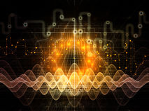 Data Flow Technologies Stock Photo