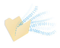 Data Folder Royalty Free Stock Photo