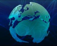 Data globe Royalty Free Stock Images