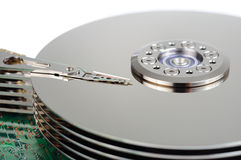 Data hard disk Stock Photo