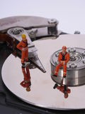Data hard disk repair rescue Royalty Free Stock Images