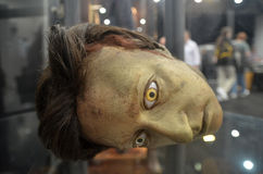 Data Head på destinationen Star Trek i London hamnkvarter 20th Oc Arkivbilder