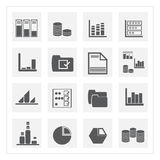 Data icon sets. Trade, commerce, business, business, business, business, commerce,. sprinkle, manager, supervisor, analyst, database. statistics Royalty Free Stock Images