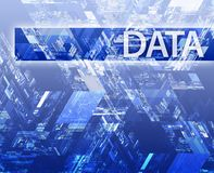 Data illustration vector illustration
