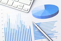 Data information analysis Stock Photos