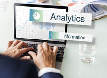 Data Information Analytics Perfomance Concept Stock Image