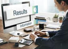 Data Information Analytics Perfomance Concept Royalty Free Stock Images