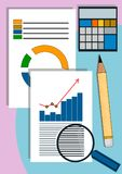 Data and information Royalty Free Stock Photo