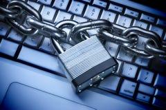 Data Information Computer Security Internet Keyboard Lock Royalty Free Stock Image