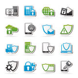 Data and Information Protection Security Icon Stock Image