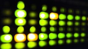 Data lights stock image