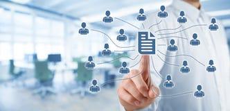 Data management Stock Photography