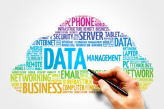 Data Management Royalty Free Stock Photos