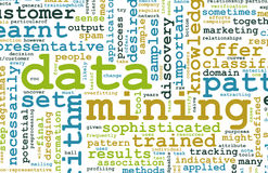 Data Mining. Technology Strategy as a Concept Royalty Free Stock Images