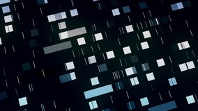 Data mining, abstracted moving squares background. Data mining, abstracted moving squares, 4K video background