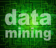 Data Mining Indicates Research Study And Analyse Stock Images