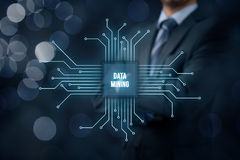 Data mining Royalty Free Stock Photos