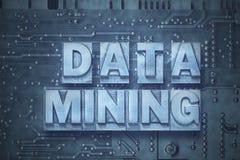 Data - Mining-PCbrett stockbilder