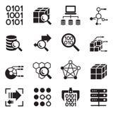 Data mining Technology , Data Transfer , Data warehouse analysis Royalty Free Stock Photo