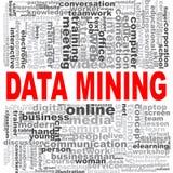 Data - Mining-Wortwolke stock abbildung