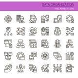 Data Organization Elements Royalty Free Stock Photos