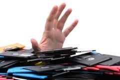 Data overloaded Stock Photos