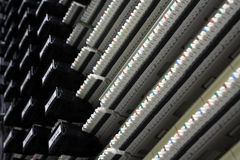 Data Patch Panel Stock Photography