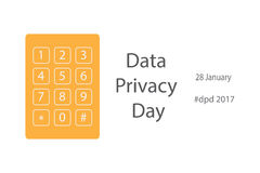 Data privacy day Royalty Free Stock Image
