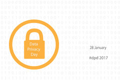 Data privacy day Royalty Free Stock Photos