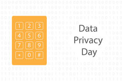 Data privacy day Royalty Free Stock Photography