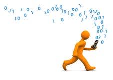 Data Privacy Smartphone Stock Photo