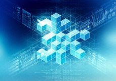 Data Processing Concept Royalty Free Stock Photo