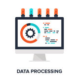Data Processing Royalty Free Stock Images
