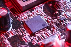 Data processor royalty free stock image
