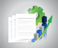 Data programing concept. illustration design Royalty Free Stock Photography