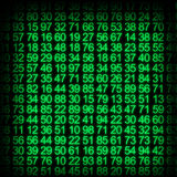 Data protection background Royalty Free Stock Photo