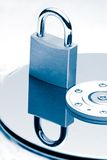 Data Protection (Blue tint) Royalty Free Stock Photo