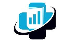 Data protection concept. Logo Design Template Vector Stock Image