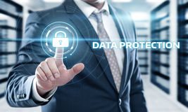 Data protection Cyber Security Privacy Business Internet Technology Concept.  Stock Image