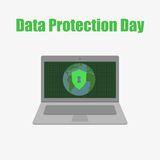 Data protection Day Royalty Free Stock Photo