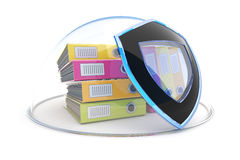 Data protection. Document security concept Royalty Free Stock Photo