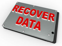 Data recovery concept Royalty Free Stock Image