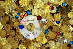 Data Riches Stock Image