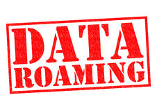 DATA ROAMING Royalty Free Stock Photos
