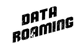 Data Roaming rubber stamp Stock Image