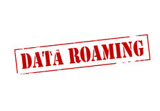 Data roaming Stock Photo
