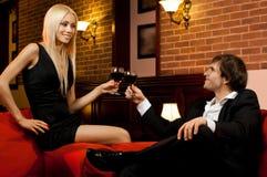 Data romântica imagens de stock royalty free