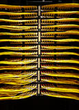 Data room network cables Royalty Free Stock Photo