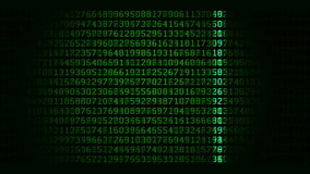 Data scan loop stock illustration